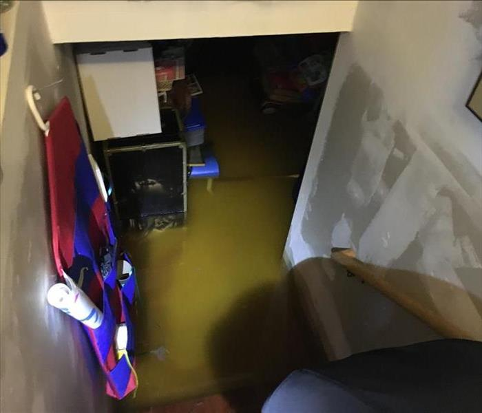 Storm Waters Flood Basement